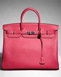 Hermes Bois De Rose Togo Birkin.  Yep. THE Birkin. $17,000 - and not the most expensive one on the site, either!