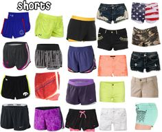 """Shorts I Like (For Summer)"" by hawkeyefan1847 on Polyvore"