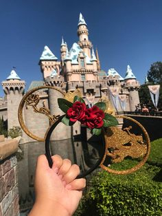 ✨PLEASE READ BEFORE ORDERING✨ So excited to bring you a new variation on our popular Beauty and the Beast 3D printed ears! GLITTER✨✨! All ears come with a bow! They are completely customizable and if you would like to change the bow, please message me! Ears are made to order! But please