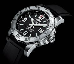 Breitling New Colt Series: Since Breitling has built their watches with absolute dedication and technical innovation. Breitling Colt, Breitling Watches, Patek Philippe, Rolex, Fashion Watches, Quartz, Mens Fashion, Diving Watch, Technical Innovation
