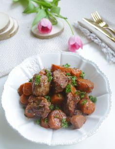 SEITAN BOURGUIGNON - Alice Esmeralda Raw Vegan, Food Dishes, Alice, Veggies, Ethnic Recipes, Foodies, Emerald, Pictures, Cooking Recipes
