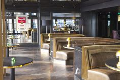 City Social dining room - London #JasonAtherton #CitySocial #restaurant #Tower42