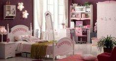 Set furniture kamar anak perempuan | Tempat tidur gadis remaja | Furniture Kamar Terbaru