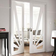 Aurora - Glazed Internal Door - JB Kind