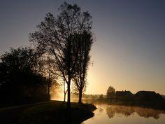 Six o'clock in the morning in Odijk by hugodejong35