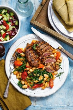 Slimming World Zesty lamb with cannellini beans recipe Lamb Recipes, Bean Recipes, Diet Recipes, Savoury Recipes, Slimming World Lunch Ideas, Slimming World Recipes, Slimming Eats, Beef Lasagne, Lasagne Recipes