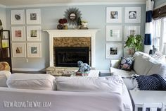 Couch versus kids: Thoughts on a white sofa | * View Along the Way *