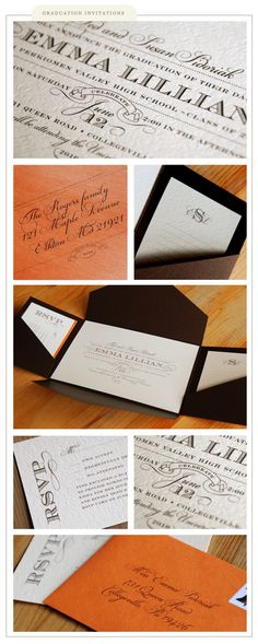 graduation invitations » Silverbox Creative Studio