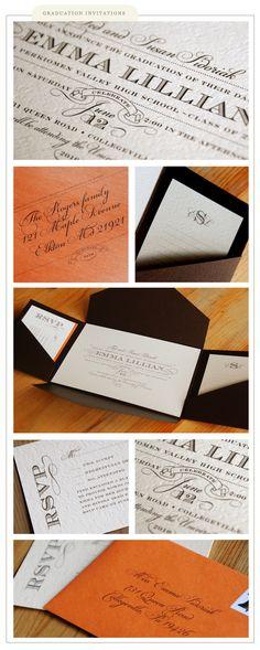 graduation invitations » Silverbox Creative Studio