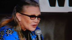 Carrie Fisher @ Wizard World Chicago Comic Con 2016