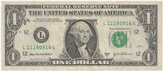 United States One Dollar Bill | Flickr - Photo Sharing!