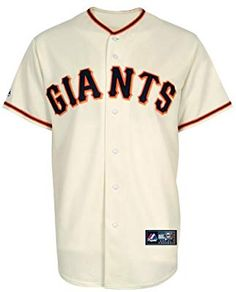 899daf19b Majestic MLB Youth San Francisco Giants Home Replica Baseball Jersey  (Ivory
