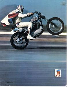 Evel Knievel #HD #Motorcycle #HarleyDavidson