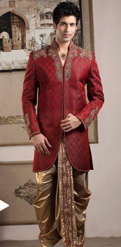 Indian Men's Wear, Indian Men's Clothing, Indian Wedding Clothing for Men
