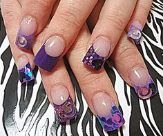 Purple Madness by dcgroves - Nail Art Gallery nailartgallery.nailsmag.com by Nails Magazine www.nailsmag.com #nailart
