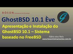 #GhostBSD 10.1 - Apresentação e Instalação