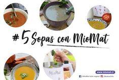 5 sopas con la MioMat Eggs, Breakfast, Food, Legumes, Vegetables, Vegans, Soups, Veggies, Healthy Recipes