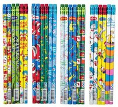 Dr. Seuss Pencils - perfect for Read Across America