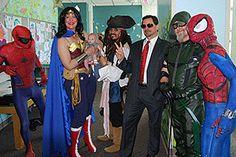 West Coast Avengers pay visit to UC Davis Children's Hospital