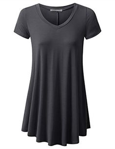 $15.74 URBANCLEO Womens Basic eLong Tunic Top Mini T-shirt Dress.Color: CharcoalTunic Top Perfect for Casual,Normal,Everyday,Party.This is a beautiful,cute and amazing top available at very cheap prices.Will be available in various colors and sizes.This can be worn during winters.fall,summer,spring.URBANCLEO Womens Basic eLong Tunic Top Mini T-shirt Dress (PLUS Size Available) at Amazon Women's Clothing store: