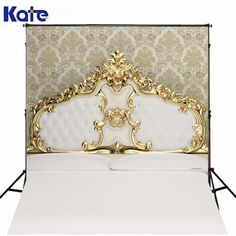 18.70$  Buy now - 5Ft*6.5Ft(150Cm*200Cm) Photography Backdrops White Indoor Bed For Children Background Photographic Studio Background  #buymethat
