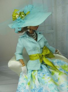 Fresh Prints for Silkstone Barbie and Victoire Roux. $115.00, via Etsy.