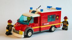 Lego City Sets, Lego Sets, Lego Hospital, Lego Truck, Lego Vehicles, Fire Fighters, Emergency Response, Emergency Vehicles, Fire Engine