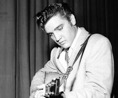 Elvis Presley was very popular during the 50s and became one of the most well known musicians in history.