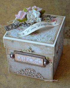 cARTa cARTolina!: Pudełko o miłości... :)