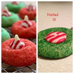 Holiday kiss cookies: flat fail. | 23 Christmas Pinterest Fails That Will Have You In Tears