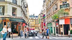 Another beautiful day at Rue des Abbesses in #Montmarte #Paris #France.  From: http://fashiontravelaccessories.com