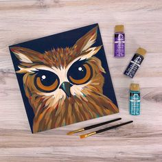 LET'S PAINT LIVE! Learn how to paint with articles, videos, and other educational resources from Plaid Crafts! Sky New, Sip N Paint, Budget Crafts, Art Party, Acrylic Colors, Learn To Paint, Doodle Art, Fun Projects, Folk Art