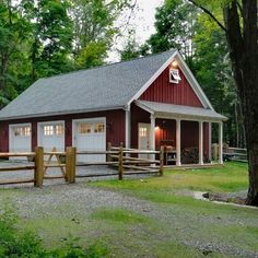 Metal Building With Garage Design Ideas, Pictures, Remodel, and Decor - page 7 #ad