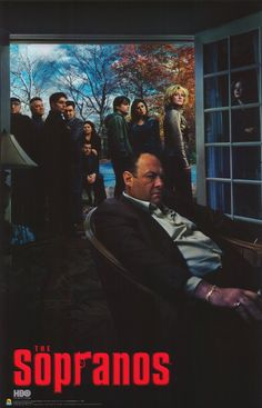The Sopranos 11x17 TV Poster (2004)