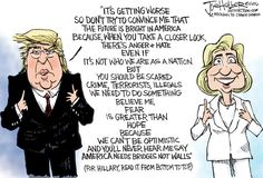 This Cartoon Captures All You Need To Know About Trump And Clinton In 2016