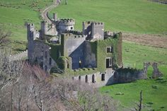 Our honeymoon in Ireland... this was Clifden Castle.