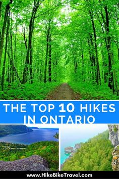 Here are 10 of the best hiking trails in Ontario ranging from a km day hike to the epic 100 km La Cloche Silhouette Trail in Killarney Provincial Park. Toronto, Alberta Canada, Ottawa, Quebec, Places To Travel, Places To See, Vancouver, Voyage Canada, Ontario Travel