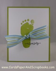"""I give this the """"Most Original"""" award in the baby card department! Love!"""