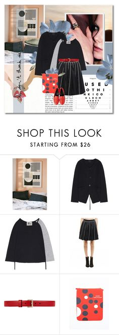 """""""You make me wonder - Svmoscow.ru #9"""" by undici ❤ liked on Polyvore featuring Urban Outfitters, Kokon To Zai, Gucci, Comme des Garçons and Garance Doré"""