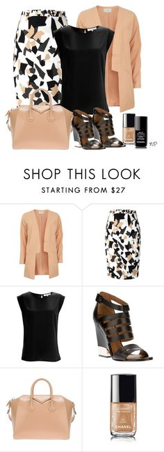 """""""Sin título #1367"""" by nuria-pellisa-salvado ❤ liked on Polyvore featuring VILA, Givenchy, French Connection, Chanel and summeroutfit"""