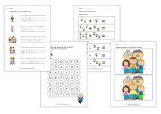 Werkbladen thema opa's en oma's onderbouw. Leuk voor bij de Kinderboekenweek van…