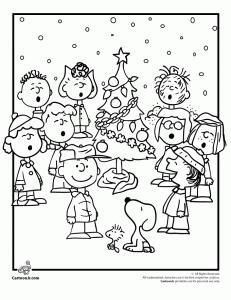 A Charlie Brown Christmas Coloring Pages Free Online Printable Sheets For Kids Get The Latest