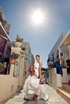 Santorini wedding. Oia village, Santorini island, Greece - selected by www.oiamansion.com