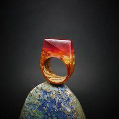 ForestDreamer / Drevený prsteň: Pod ohnivým slnkom