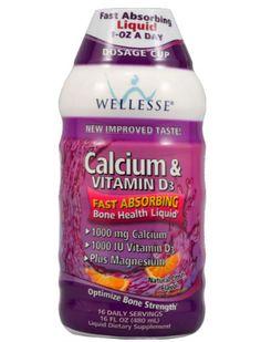 Wellesse Calcium and Vitamin D3