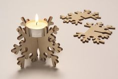 Decor idea - candlestick made of plywood #Plywood #HomeDecor #Troja