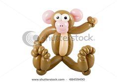 monkey balloon, like this face