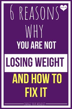 Are you frustrated because you are dieting and exercising but not losing weight? The reason could have nothing to do with diet and exercise. 6 reasons why Healthy Body Images, Stress Eating, Stop Overeating, Learning To Love Yourself, Change Your Mindset, Binge Eating, Stress Less, Body Confidence, Weight Loss Tips