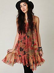 Free People, I have something like this and it's so flattering!