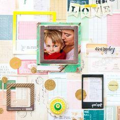82 Love everyday by Julia Schueler at @studio_calico
